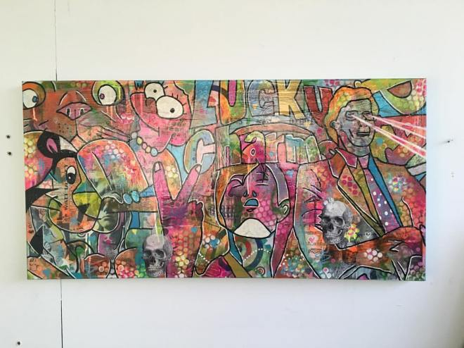 %22Flesh without blood%22 by Barrie J Davies 2016