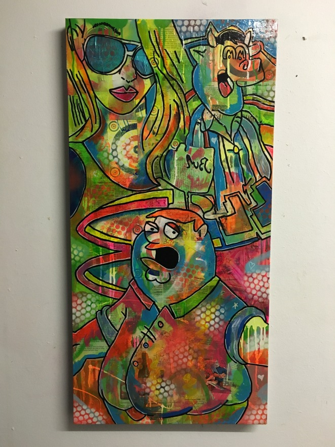 %22Once in a lifetime%22 by Barrie J Davies 2016