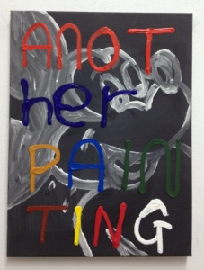 another painting painting 4 by Barrie J Davies 2012