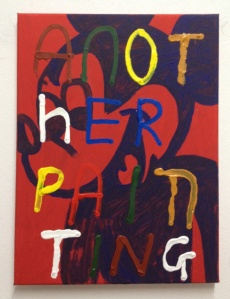 another painting painting by Barrie J Davies 2012
