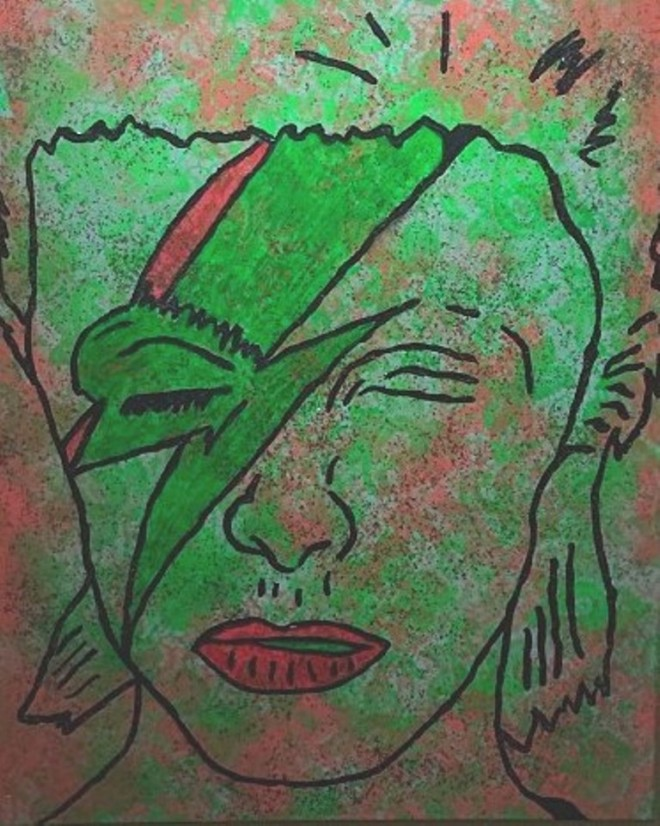 bowie remix by barrie j davies 2012