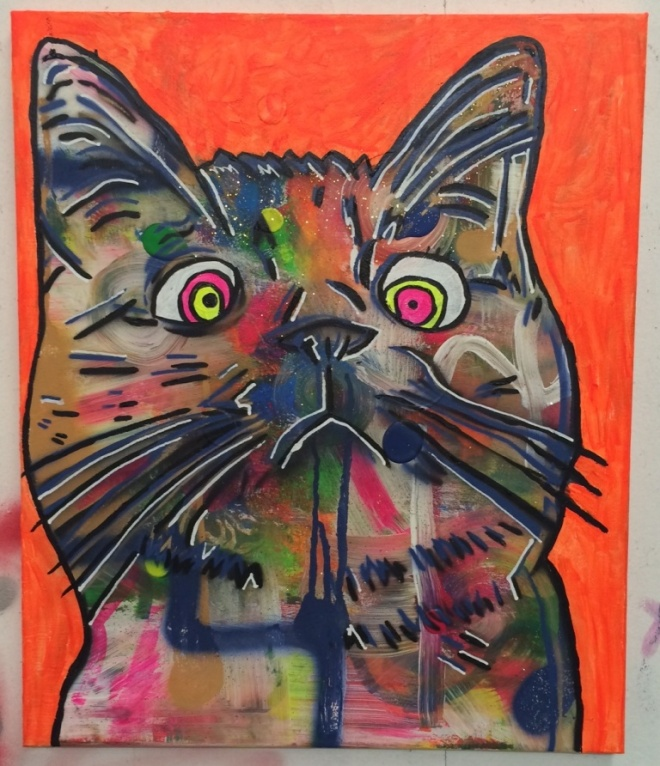 cosmic moggie by barrie j davies 2014