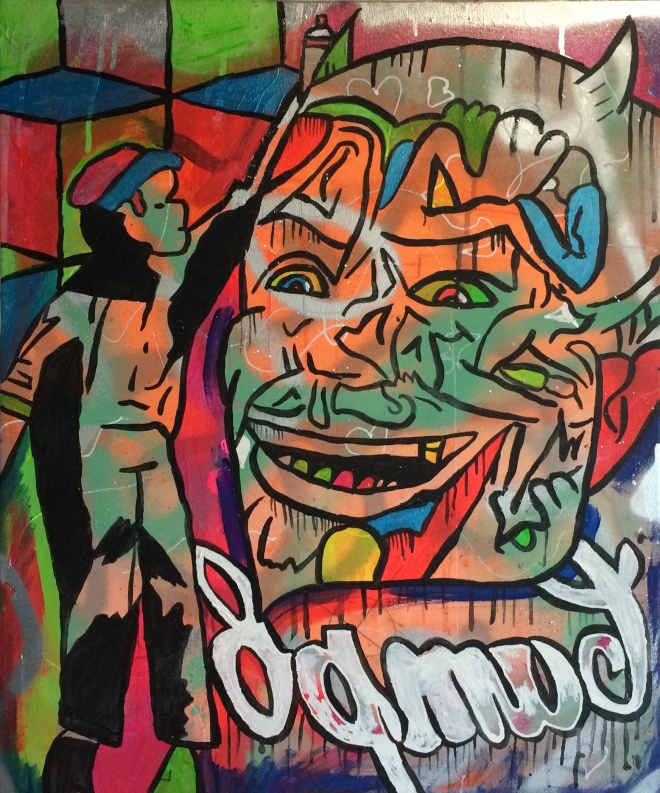 Devils Hair Cut by Barrie J Davies 2015
