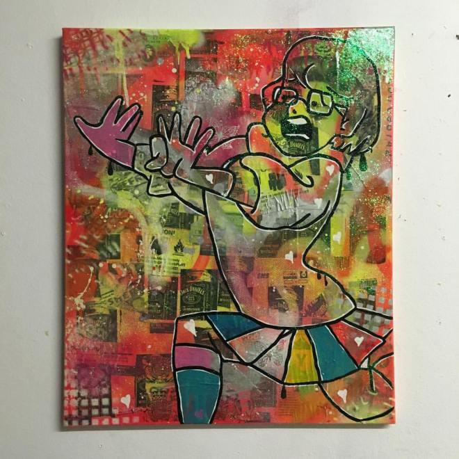 """Zoned"" by Barrie J Davies 2016"