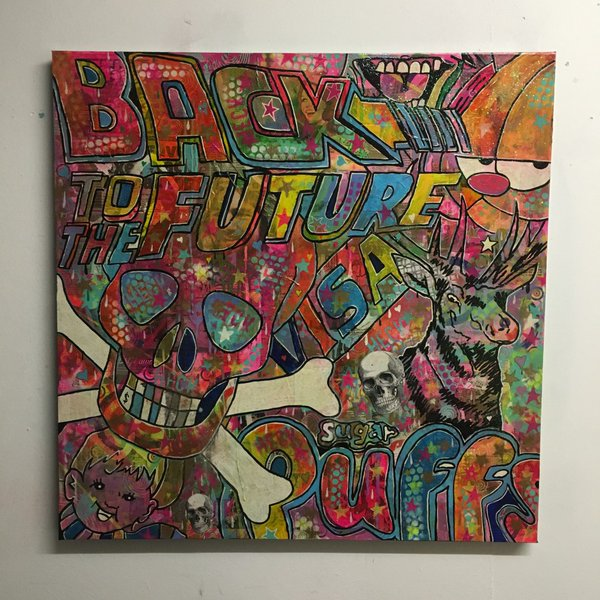 Barrie J Davies is an artist