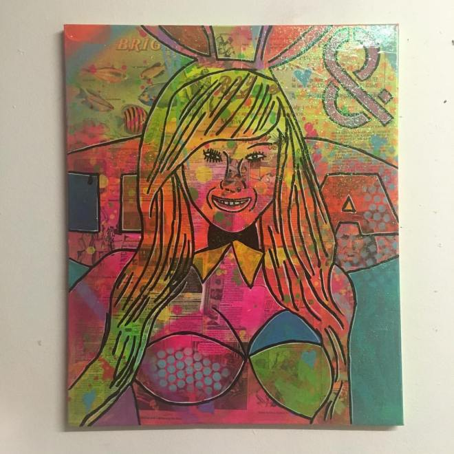 LA Woman by Barrie J Davies 2016