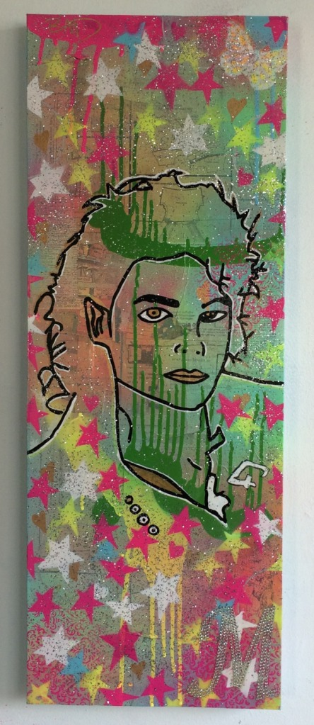 Man in the mirror by Barrie J Davies 2015