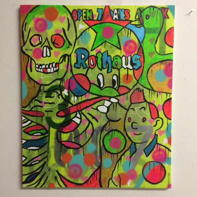 Moon Duo by Barrie J Davies 2015