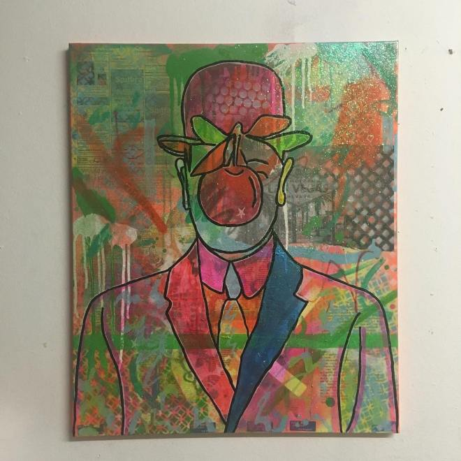 Purple Haze by Barrie J Davies 2016
