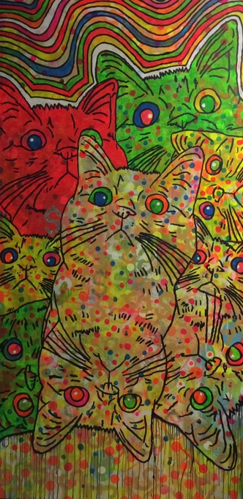 The Pussycat Meow Delight by Barrie J Davies 2014