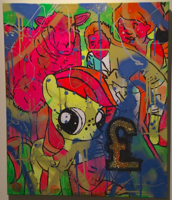 85 The Sheep by Barrie J davies 2014