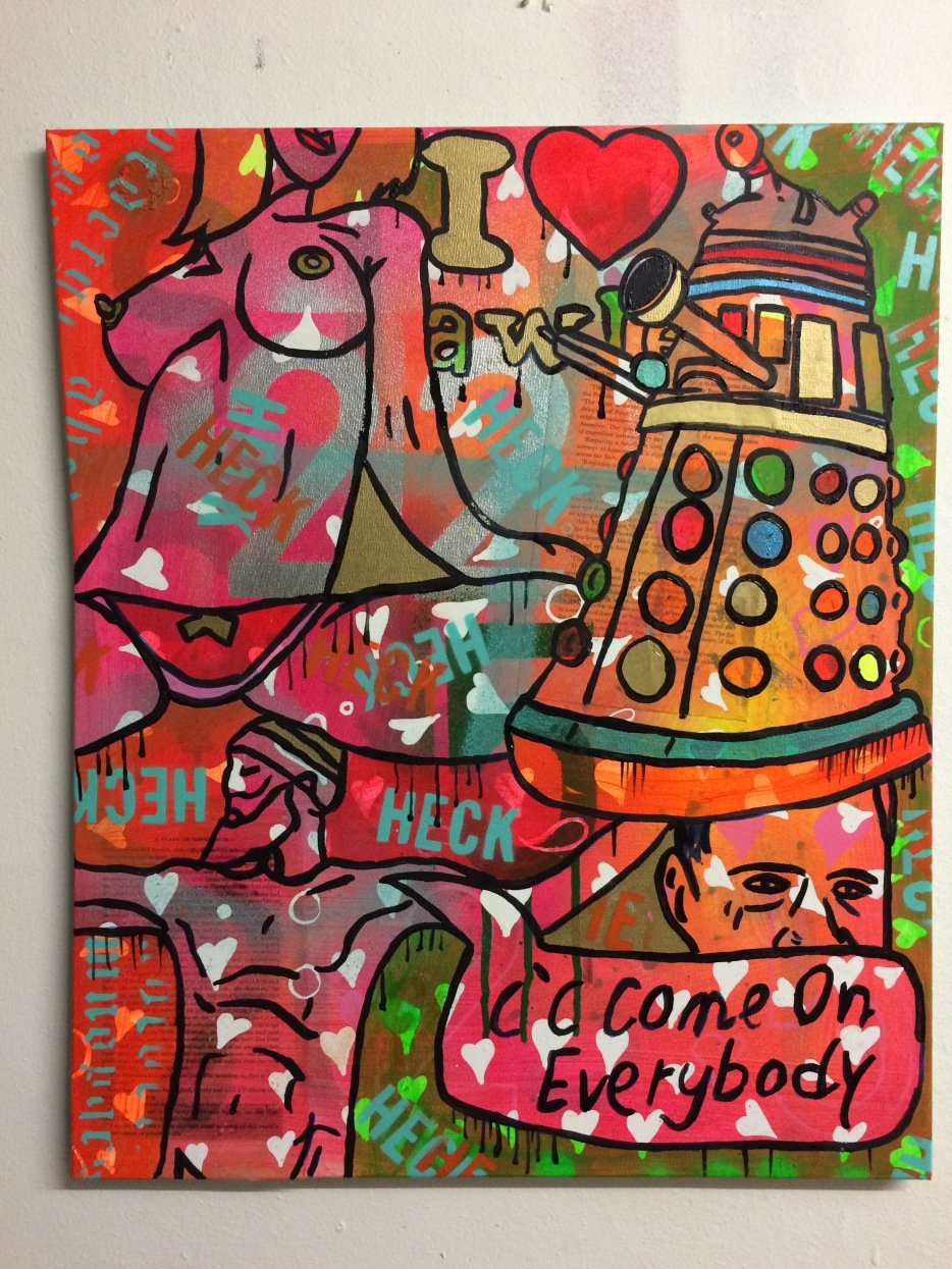 Lively Culture On The Battlefield by Barrie J Davies 2015