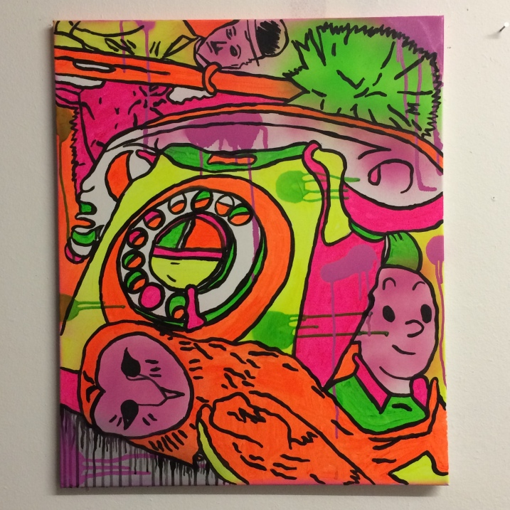 satellite of love by Barrie J Davies 2014
