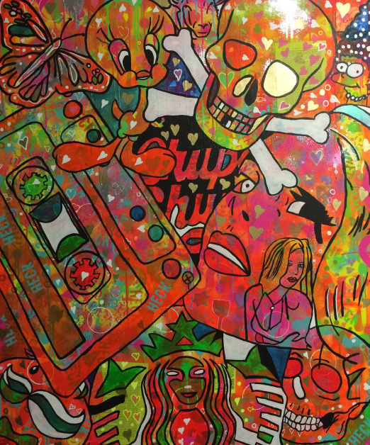 fizzy make me feel good by Barrie J Davies 2014