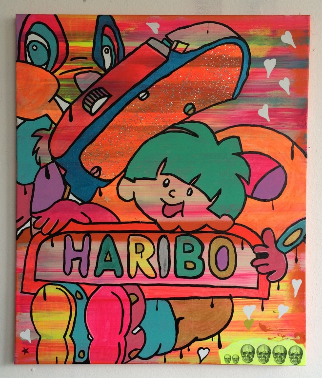 alien days by Barrie J Davies 2015