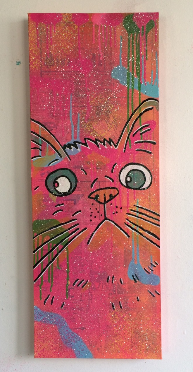 cosmic moggy by Barrie J Davies 2015