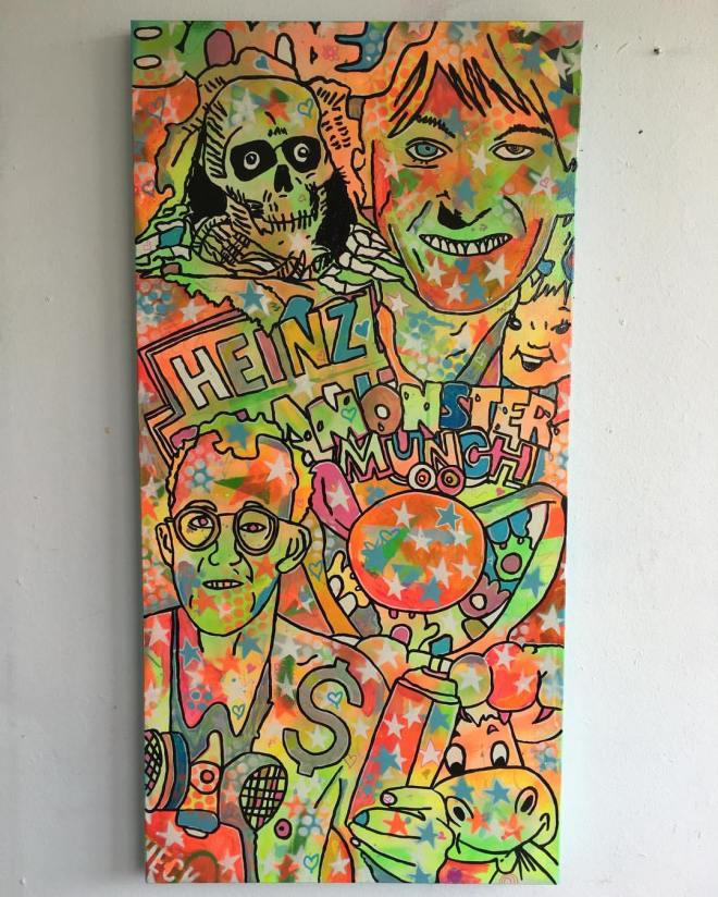 %22Tripping on your Love%22 by Barrie J Davies 2016