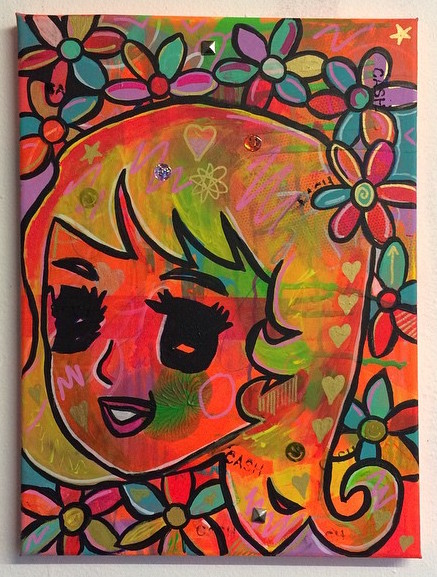 """7. """"Power on"""" by Barrie J Davies 2015"""
