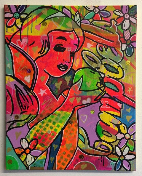 """8. """"So good at being in trouble"""" by Barrie J Davies 2015"""