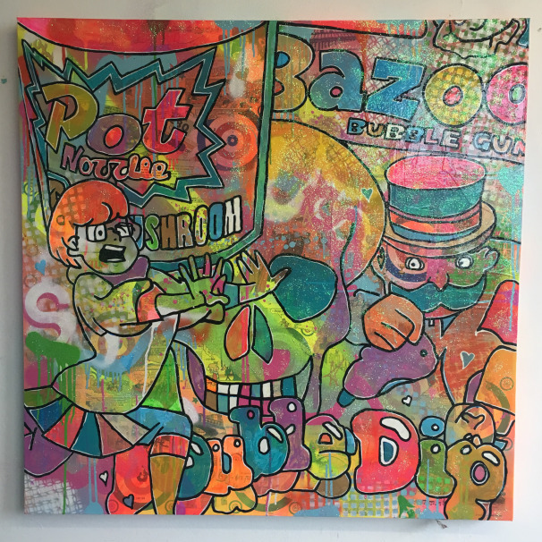 """9. """"Start me up"""" by Barrie J Davies 2015"""