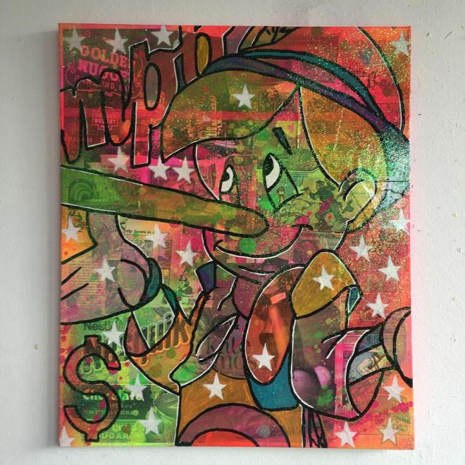 Bat for lashes by Barrie J Davies 2016