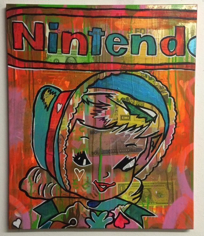 Game Love by Barrie J Davies 2015