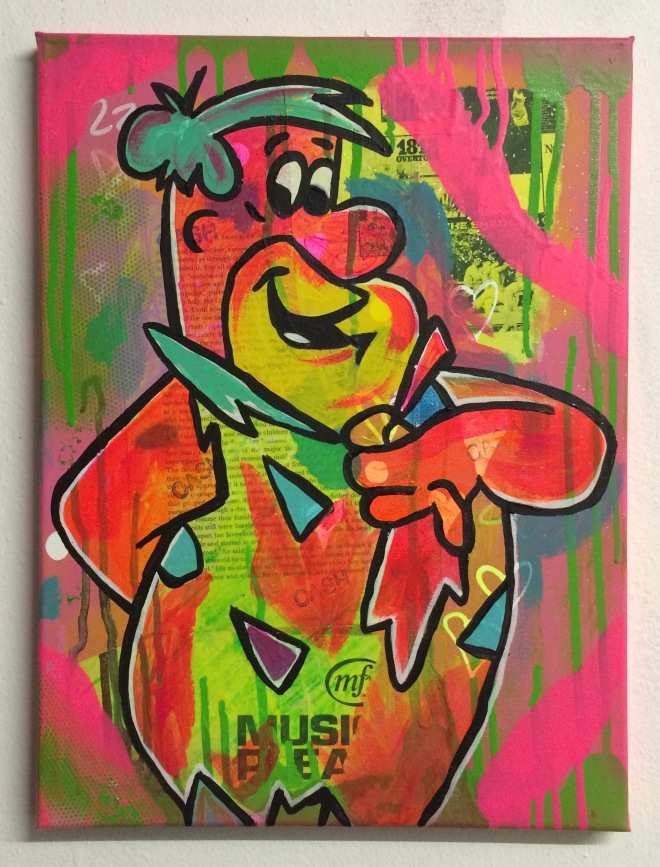 heres freddy by Barrie J Davies 2015