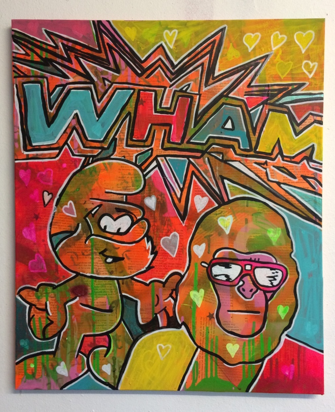 Wham bam thank you mam by Barrie J Davies 2015