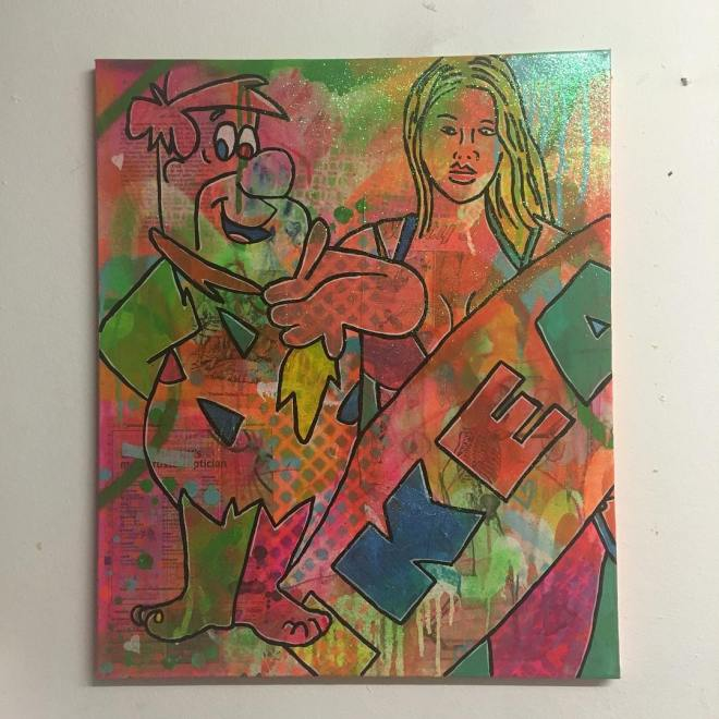 Wild Horses by Barrie J Davies 2016